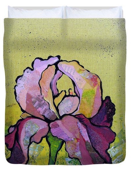 Iris IIi Duvet Cover by Shadia Derbyshire