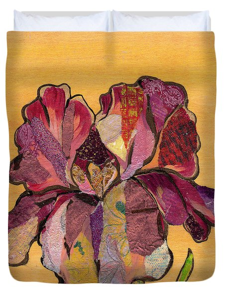 Iris Iv - Series II Duvet Cover by Shadia Derbyshire