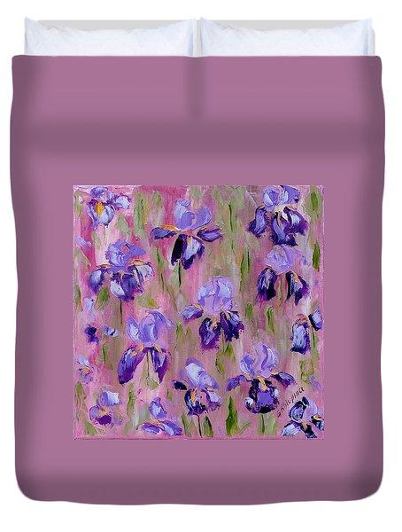 Iris Pattern Duvet Cover