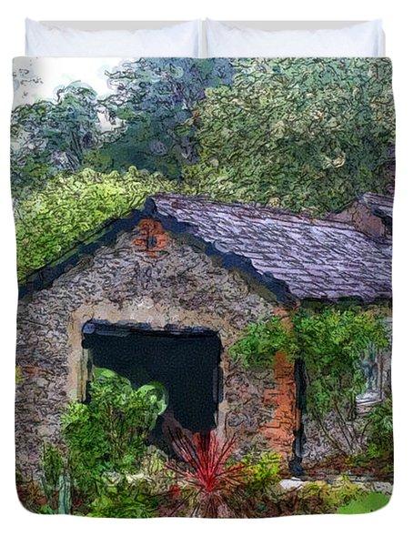 Irish Cottage Duvet Cover