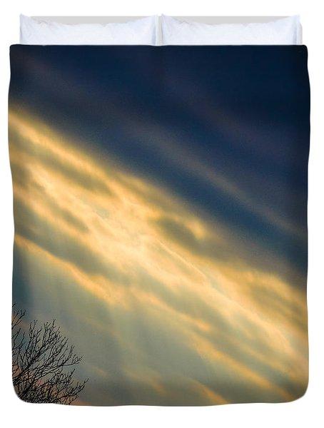 Irish Sunbeams Duvet Cover