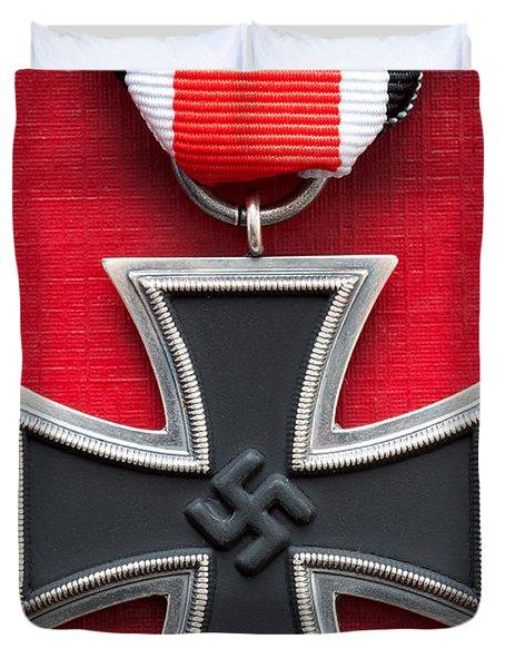 Iron Cross Medal Duvet Cover