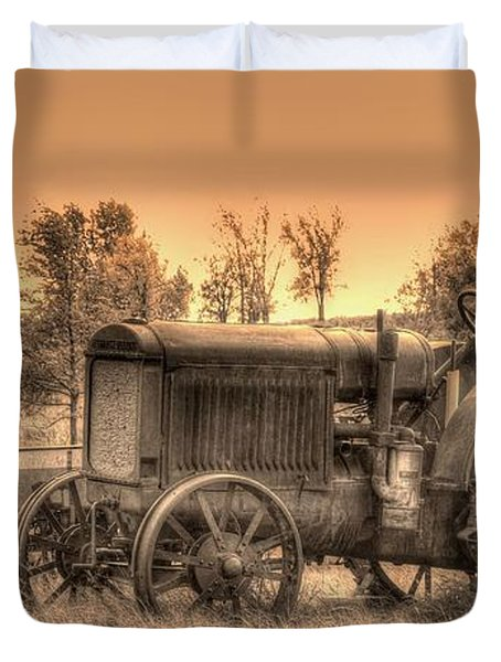 Iron Workhorse Duvet Cover