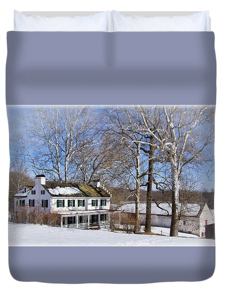 Ironmasters House Duvet Cover