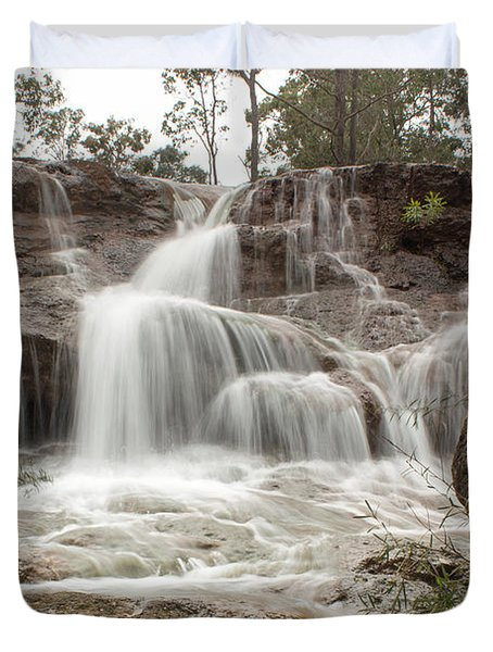 Ironstone Gully Falls 1 Duvet Cover