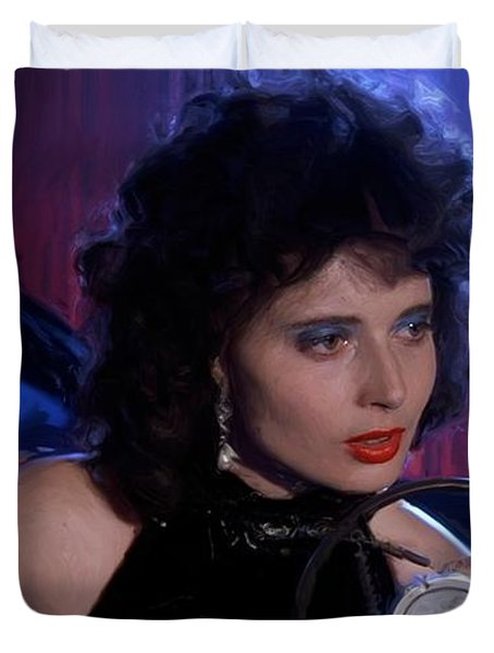 Isabella Rossellini In The Film Blue Velvet Duvet Cover