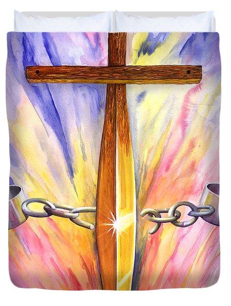 Isaiah 61 Duvet Cover