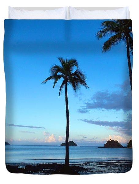Isla Secas Duvet Cover by Carey Chen