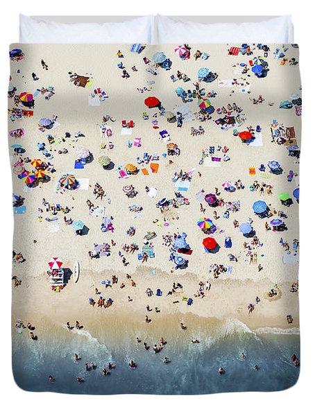 Island Beach State Park Duvet Cover