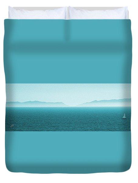 Island Duvet Cover by Ben and Raisa Gertsberg
