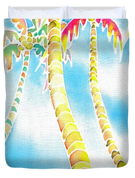 Island Breeze Duvet Cover