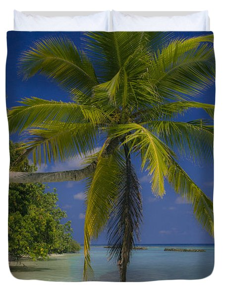 Island Dream Duvet Cover by Dee Cresswell