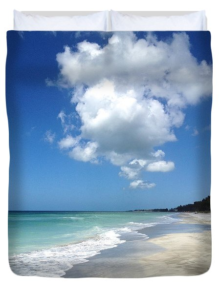 Island Escape  Duvet Cover by Margie Amberge