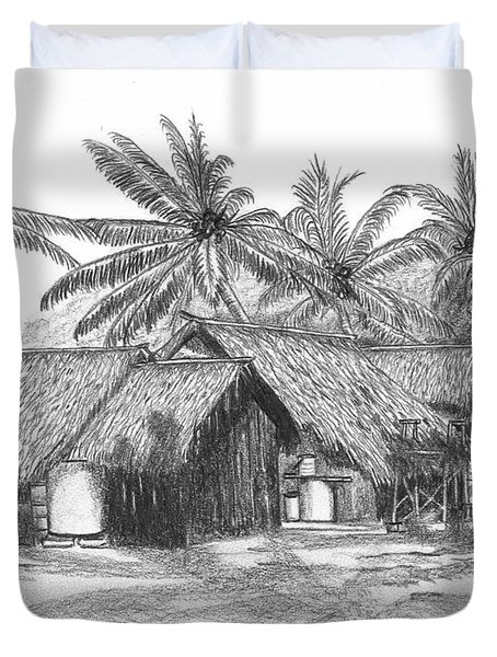 Island House 13 Duvet Cover