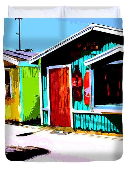 Island Life 3 - Shopping  Duvet Cover
