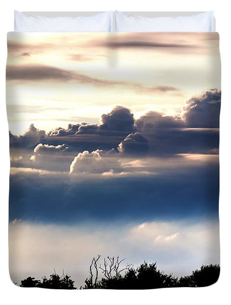 Island Of Clouds Duvet Cover