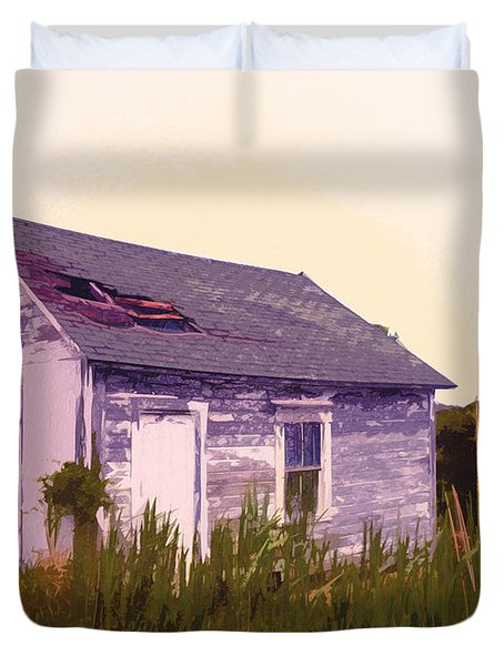 Island Shed Duvet Cover