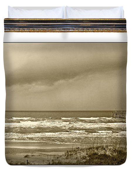 Island Storm Duvet Cover