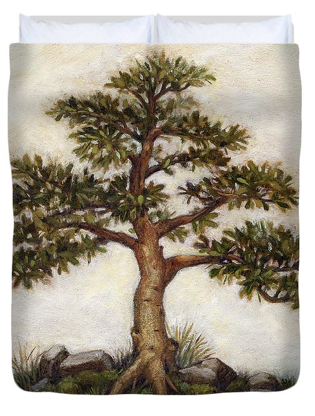 Island Tree Duvet Cover