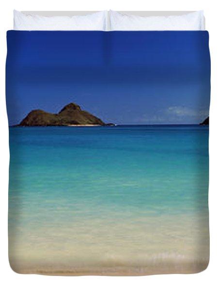 Islands In The Pacific Ocean, Lanikai Duvet Cover