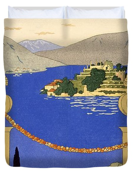 Isola Bella Duvet Cover by Georges Barbier