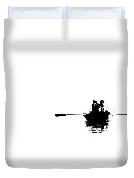 Isolated  Duvet Cover