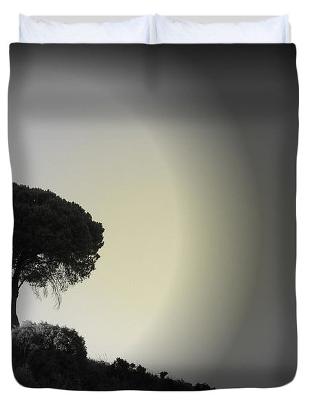 Isolation Tree Duvet Cover by Clare Bevan