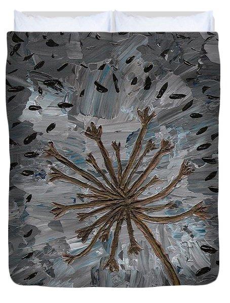 Isolation Vacuus Vos Duvet Cover by Vicki Maheu