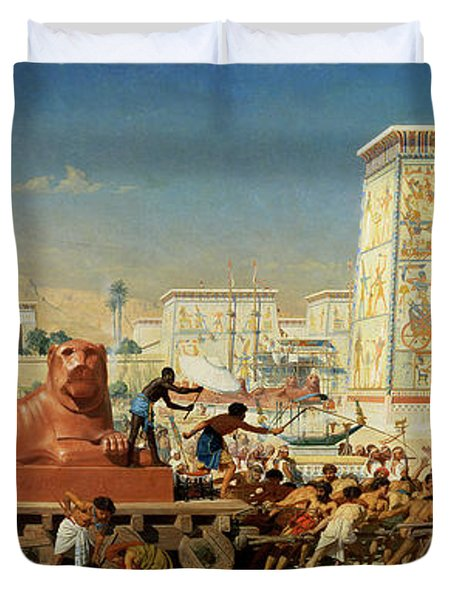 Israel In Egypt, 1867 Duvet Cover