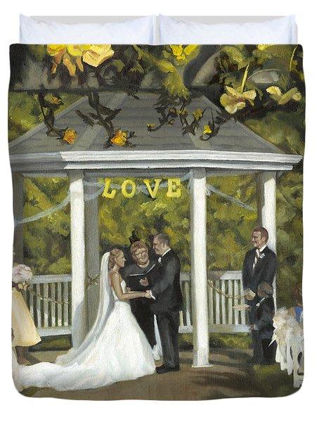 Issaquah Wedding  Duvet Cover