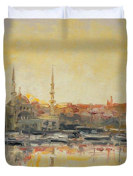 Istanbul- Hagia Sophia Duvet Cover