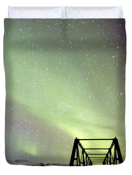 It Came Upon A Midnight Clear Duvet Cover