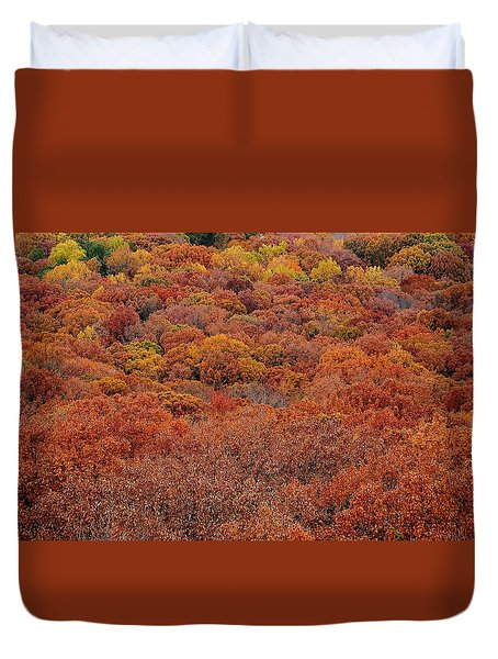 It Must Be Autumn Duvet Cover
