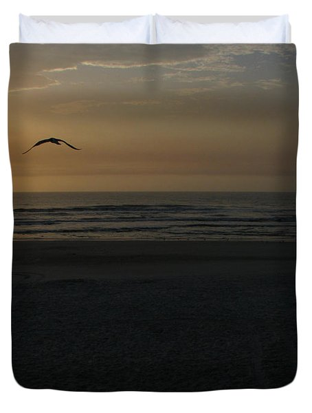 Duvet Cover featuring the photograph It Starts by Greg Patzer
