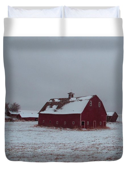 It Stood Forever Duvet Cover by Abigail Ellison