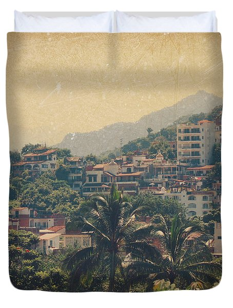 It Was Years Ago Duvet Cover by Laurie Search