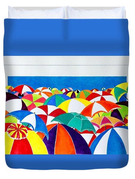Italian Beach Duvet Cover