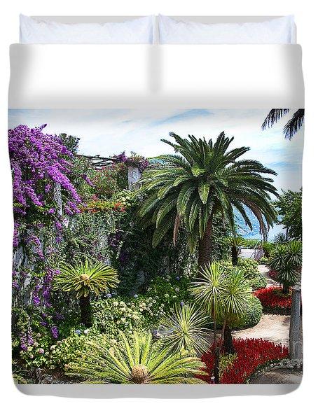 Italian Garden Duvet Cover