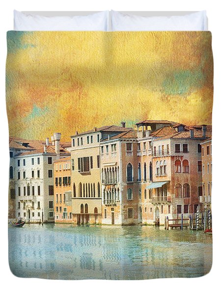 Italy 02 Duvet Cover by Catf