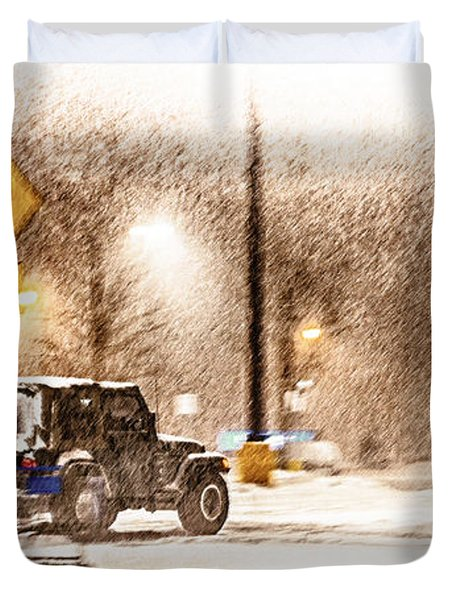 It's A Jeep Thing Duvet Cover