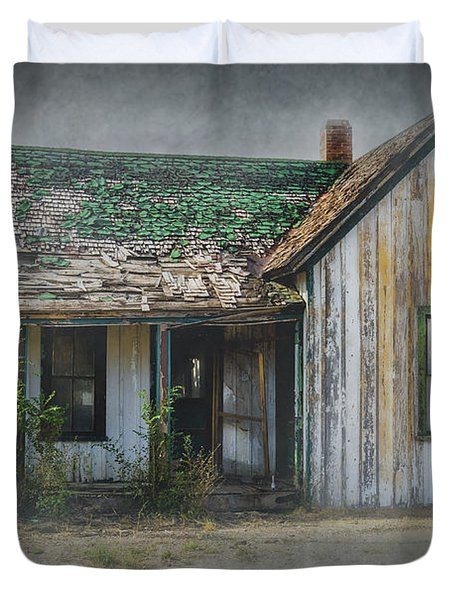 It's  A Long Story Duvet Cover by Sandra Bronstein