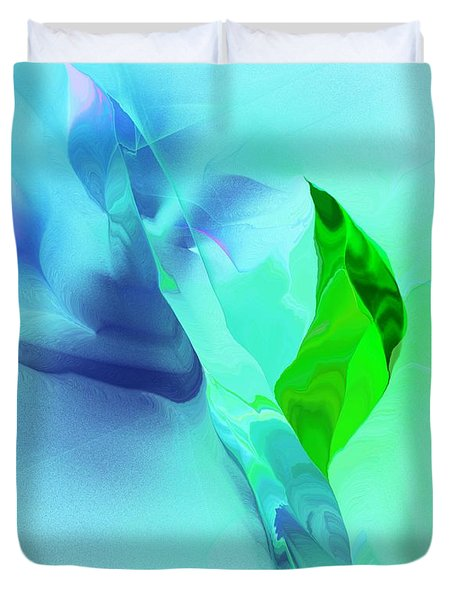 Duvet Cover featuring the digital art It's A Mystery  by David Lane
