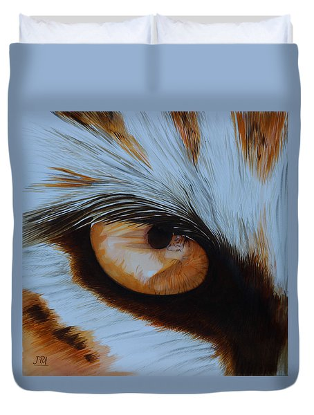 It's All In The Close Up Duvet Cover