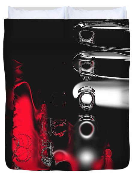 It's Complicated Duvet Cover by Kume Bryant