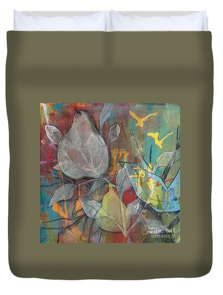 It's Electric Duvet Cover by Robin Maria Pedrero
