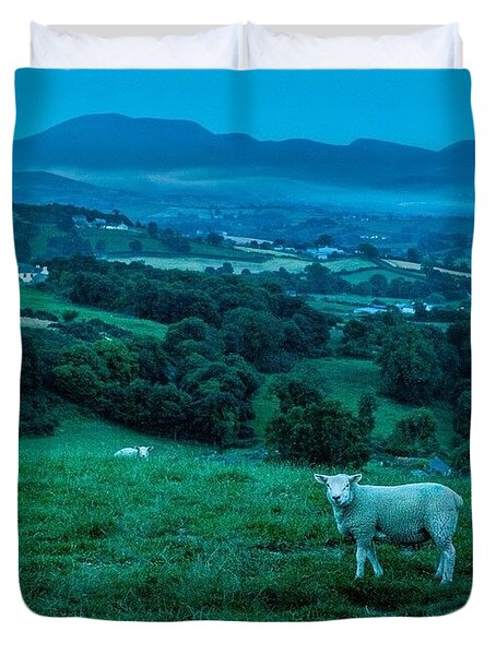 It's Getting Cold Again, N.ireland Duvet Cover