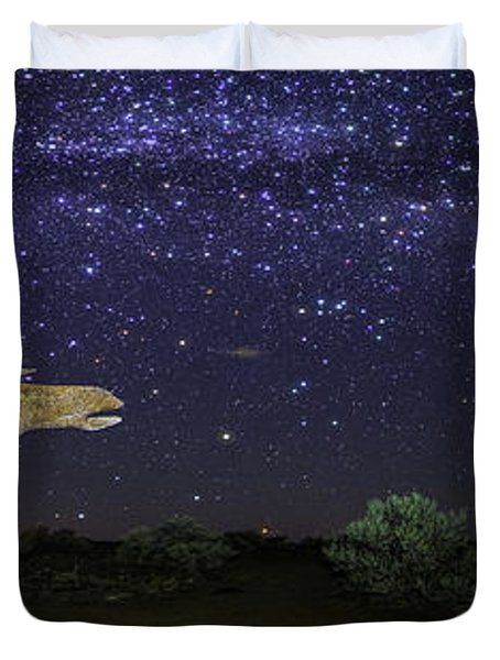 Its Made Of Stars Duvet Cover by James Heckt