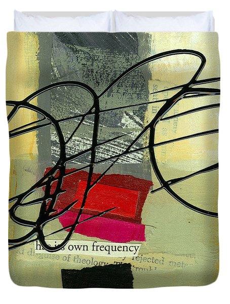 Its Own Frequency Duvet Cover by Jane Davies