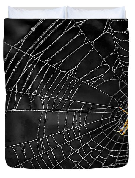 Itsy Bitsy Spider My Ass 3 Duvet Cover