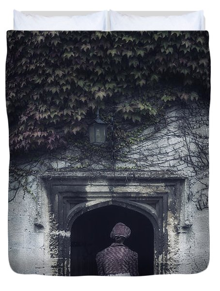 Ivy Tower Duvet Cover by Joana Kruse